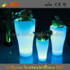 Plastic Garden Flower Pots with LED Lights