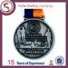 Медаль металла марафона спорта изготовления идущее с тесемкой