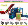 Tijolo concreto inteiramente automático da imprensa Qt4-20 hidráulica que faz a maquinaria