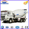 Camion pertinent de mélangeur concret de Maintainenced Shacman (500, 6 cylindres)