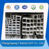 6061/6063 profil en aluminium d'extrusion de qualité, tube rectangulaire en aluminium, OEM