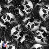 Película hidrográfica del cráneo de Yingcai del agua de la impresión antigua de la transferencia