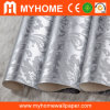 Metallic argenté Wallpaper pour Building Material