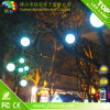 LED Round Ball Christmas Lights DMX (wit balkoord)