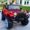 Coche eléctrico de los niños con la talla estupenda SUV accionado por control remoto