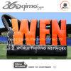 Pareti di pubblicità gonfiabili di marchio della rete di pesca del mondo (BMLW11)