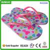 아름다운 도매 소녀 분홍색 바닷가 아이 플립 플롭 (RW22066B)
