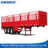 China Chhgc 40ton Utility Stake Cargo Semi Trailer