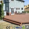 Decking sólido compuesto plástico de madera WPC del suelo del jardín de la terraza