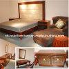 Meubles en bois chinois de luxe grands de chambre à coucher d'hôtel du restaurant 2016 (GLB-60008)