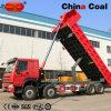Niedriger Hochleistungslastkraftwagen mit Kippvorrichtung des Kraftstoffverbrauch-8*4