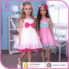 Kleid zwei Farben-beiläufigen Sommer-Bonbon-Mädchen-Kleidungs-Kind-Mädchens