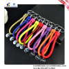 Braided PU Key Chain Rope Metal с Coin