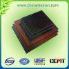Panneau de pressage stratifié à isolation renforcée en fibre de verre