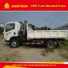 Grue montée par camion XCMG de Sinotruk 4X2 5 tonnes soulevant la capacité