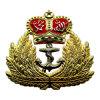 24k 금과 니켈 2색조 도금된 Handmade 금관 악기 육군 상징