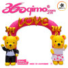 4X4mh Customized Small Cute Inflatable Cartoon Love Arch (BMAC5)