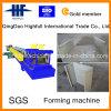 A bandeja de cabo de aço galvanizada automática lamina a formação da maquinaria