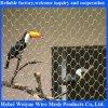 Acoplamiento decorativo de la cuerda de alambre del pájaro del balcón de la escalera de los animales del parque zoológico del cable del acero inoxidable