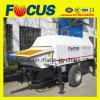 pompe concrète diesel de 80m3 /H, pompe concrète de remorque diesel portative
