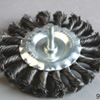 High Quality (75mm, 85mm, 100mm Diameter)를 가진 샤프트 Wheel Brush