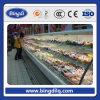 Multi-Cubierta Chiller Display del supermercado para las frutas y verdura