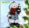 Bel ornement de Noël de bonhomme de neige de Noël de résine (NF3600105-1)