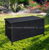 옥외 Rattan Furniture Storage Box