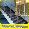 Balustrade d'intérieur résidentielle d'escalier d'acier inoxydable pour des escaliers
