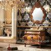 Armário de banheiro clássico novo, mobília do banheiro da madeira contínua, vaidade de madeira do banheiro (K-801)