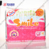 Sourire Brand Highquality Disposable Baby Diaper avec du PE Tape