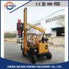 Programa piloto de pila hidráulico diesel del poste de la cerca del camino del martillo del poste de la barandilla de la carretera