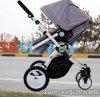 Foldable手押車の幼児のカー・シートが付いている調節可能なベビーカー
