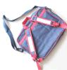 Único saco de escola do estudante do saco de ombro saco do computador de 14 polegadas para a venda por atacado