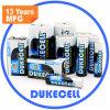 Bateria alcalina preliminar de baterias secas
