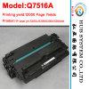 Cartuccia di toner compatibile per l'HP Q7516A/C8543X (cartuccia originale del laser)