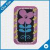 Divisa/escritura de la etiqueta tejidas con la flor para los accesorios de la ropa