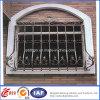 Dekorativer Sicherheits-Qualitäts-bearbeitetes Eisen-Zaun (dhfence-6)
