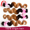 Aliexpress 중국 Ombre Bundles Hair Weaves, High Quality 1b/27 Body Wave Hair Extensions