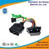 Lámpara ligera auto del coche del harness del alambre de los contactos de Molex 16