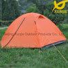 キャンプの屋外の二重層のドームのテント