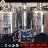 Het Verwarmen van de elektrische/Vlam van de Stoom de Directe Apparatuur van het Bierbrouwen van de Staaf