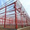 Construcción prefabricada portable del almacén de la estructura de acero
