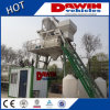 1000L Concrete Mixing Plant Host Twin-Shaft Mixers in Sale