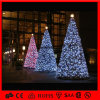 방수 Decoration Artficial Motif LED 3D Christmas Tree