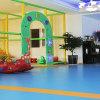 Plancher d'intérieur coloré de PVC d'utilisation de bonne qualité de vinyle imperméable à l'eau