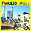Planta de tratamento por lotes concreta quente do transporte de correia da venda Hzs60 de 60m3/H