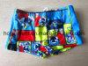 Placa do verão/praia impressas azuis Swimshorts para miúdos/menino, Swimwear