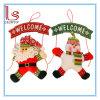 Guirlande de bienvenue de coup de porte de Noël de décorations de Noël