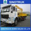 Vrachtwagen van Sinotruck HOWO 6X4 zette Mobiele Kraan voor Verkoop op